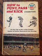 How to Punt, Pass, Kick by Richard Pickens, 1965 NFL Library