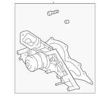 Genuine Toyota Water Pump Assembly 16100-09201