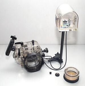 Ikelite Unterwassergehäuse SLR für OLYMPUS OM-2N, siehe Beschreibung !