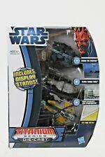 Star Wars 2012 Titanium Tie Fighter Clone Die Cast Sets Incl Stands 1008