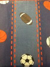 DC20 7pcs Queen Size Sports World-Basketball/Baseball/Football/Soccer Comforter