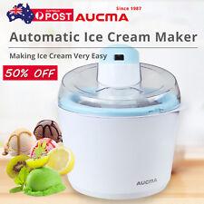 AUCMA Ice Cream Maker Home Soft Serve Ice Cream Machine Machine Beach Kitchen