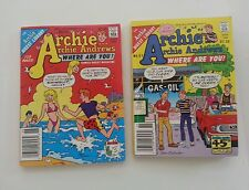 Archie Archie Andews, where are you #46 & #51 (August 1986 & October1987)