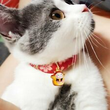 Necklace Collars Elastic Anti-Strangulation For Cat Kitty With Bell Japan Style