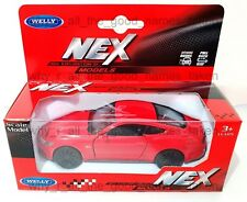 2015 FORD MUSTANG GT - Welly NEX MODELS Diecast Replica Pull Back Car 1:38 Scale