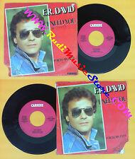 LP 45 7'' F.R.DAVID I need you Porcelain eyes 1983 italy CARRERE no cd mc dvd *