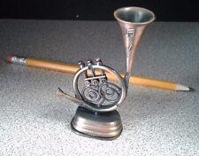 Vintage Die-Cast French Horn Pencil Sharpener