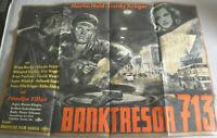 Filmplakat,Plakat,BANKTRESOR 713 ,MARTIN HELD ,HARDY KRÜGER,NADJA TILLER#81