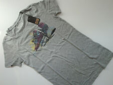 CONVERSE  All  Star  Damen  T-Shirt  Top  Print  hell  Grau  Gr. S  Gr. 36  Neu