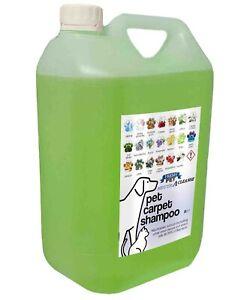 Pet Carpet Shampoo 5L Container Citrus Scented Neutracleanse Fresh Pet