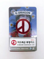 GD G Dragon Photo Transparent Card 25 Pcs KPOP Bigbang Top Daesung Seungri Goods