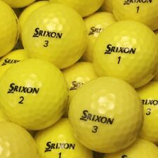 ( 5 Dozen / 60 ) Srixon Yellow ( Q-Star / Z-Star / Softfeel)  Mint