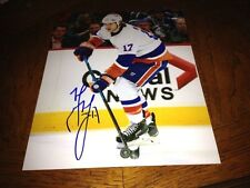 Matt Martin New York Islanders Autographed 8x10 Photo with COA
