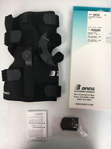 """BREG 14225 PTO Right Knee Brace Airmesh Open Back XL 24-27"""" (61-69 CM)"""