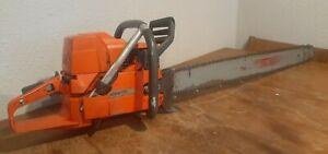 Vintage Husqvarna 288xp Chainsaw West Coast full wrap handle runs cuts