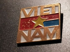 VIETNAM SOUTH VIETNAM FLAG PATRIOTIKA MILITARY LARGE BADGE