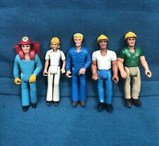 Vintage 1974 Fisher Price Adventure People Rescue Medic Lot Of 5 Figures