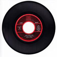 PAUL ANKA/JIM WEATHERLY VG+ 45 RPM REISSUE