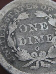 1841 O Seated Liberty Silver Dime