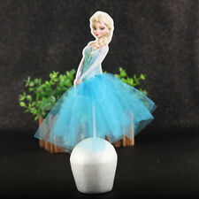 Frozen Theme Elsa Anna Large Cake Topper/Cupcake Toppers/Party Supplies