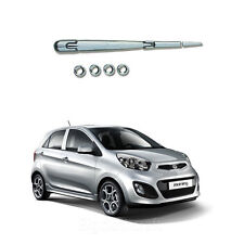 New Chrome Rear Exterior Molding Kit Set B737 for Kia Picanto 2011-2012