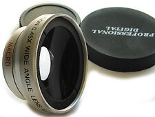 WIDE ANGLE X0.45 LENS FOR Sony DCR-SR220 HDR-CX100