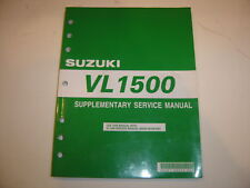 2005 Suzuki Supplement Service Manual VL1500 VL 1500 Repair Maintenance LC OEM