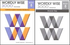 Wordly Wise 3000 Grade 8 SET -- Student and Key NEW  *3rd edition*