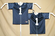 PENN STATE NITTANY LIONS   Nike  #1  FOOTBALL JERSEY  Youth Large  NWT   blue