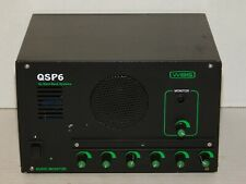 Ward Beck Systems WBS QSP6 Audio Monitor Speaker 6 Input Mini Disk PC Outputs