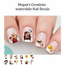 Charlie Brown-Snoopy Peanut Gang Nail Art Decals