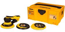 Mirka Deros 5650cv Bluetooth Orbital Sander 230v 125 150mm Pads Abranet Discs