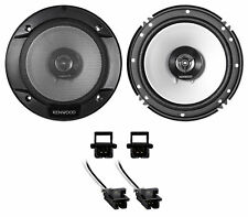 Kenwood Front Factory Speaker REPLACE Kit For 2000-2007 Chevrolet Monte Carlo