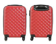 Maleta pequeña para cabina rígida rombo 4 ruedas 360º Low cost equipaje de mano