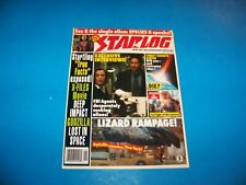 "Starlog Magazine ""X-Files Movie / Deep Impact / Godzilla"" Vintage 1998"
