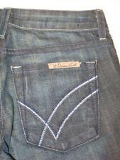 William Rast Jeans Sadie Slim Low Straight Leg Sz 24  (Run BIG)