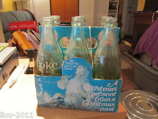 """Coca-Cola Classic Six Pack Bottles """"A Christmas present from a Christmas Past"""""""