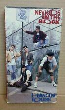 New Kids On The Block Hangin' Tough VHS Cassette Tape w/cover 1989 Used NKOTB