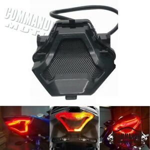 Rear Tail Brake Turn Signals Integrated LED Light For Yamaha YZF-R25 YZF-R3 MT07
