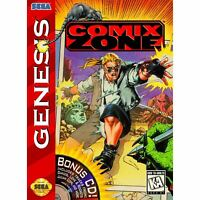 Comix Zone - Sega Genesis Game *CLEAN VG