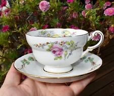 1930 Paragon BIRTH of PRINCESS MARGARET ROSE Tea Cup & King George VI Saucer
