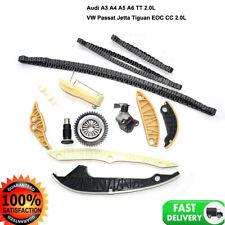 Timing Chain Kit For VW GOFT GTI PASSAT Audi A3 A4 A5 A6 Q5 2.0TSI 1.8TSI