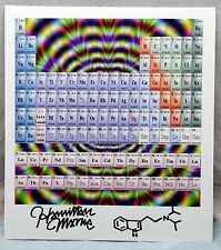 Hamilton Morris Signed Blotter Art from Vice/ Hamiltons Pharmacopia psychedelic