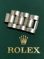 Authentic ROLEX DATEJUST Stainless Steel Bracelet 3 Extra Link 18mm