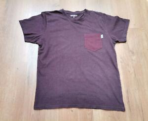 Carhartt Herren T-Shirt Gr M Burgund