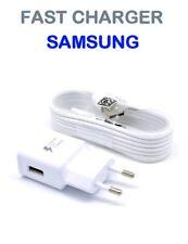 CARICA BATTERIA SAMSUNG GALAXY ORIGINALE ETA-U20EWE 2A + CAVO USB S7 S6 S3