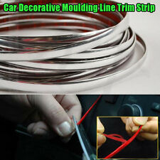 3m Chrome Self Adhesive Car Detail Edging Styling Moulding Trim Strip 4mm