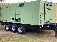 Serviced 2006 Sullair 1600Haf Portable Diesel Air Compressor S# 200602100043