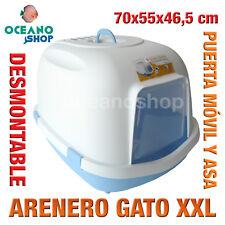 ARENERO GATO XXL CUBIERTO RESISTENTE PUERTA ABATIBLE 70x55x46,5 cm L552 6871
