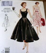 1950s VOGUE VINTAGE MODEL DRESS SEWING PATTERN 18-20-22